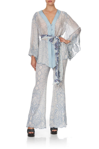 KIMONO WITH SHOULDER INSERTS BUSH DIAMOND