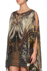 LONG SHEER OVERLAY DRESS KAKADU CALLING