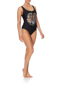 LOW BACK AND ARMHOLE ONE PIECE LOST PARADISE