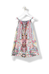 MOCHILLA CHILLER KIDS GATHERED NECK DRESS