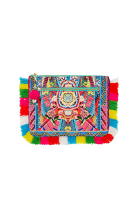 MS MOCHILLA SMALL CANVAS CLUTCH