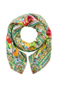 THERES NO PLACE LIKE RIO LARGE SQUARE SCARF