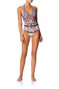 RING TRIM HALTER ONE PIECE JOIE DE VIVRE