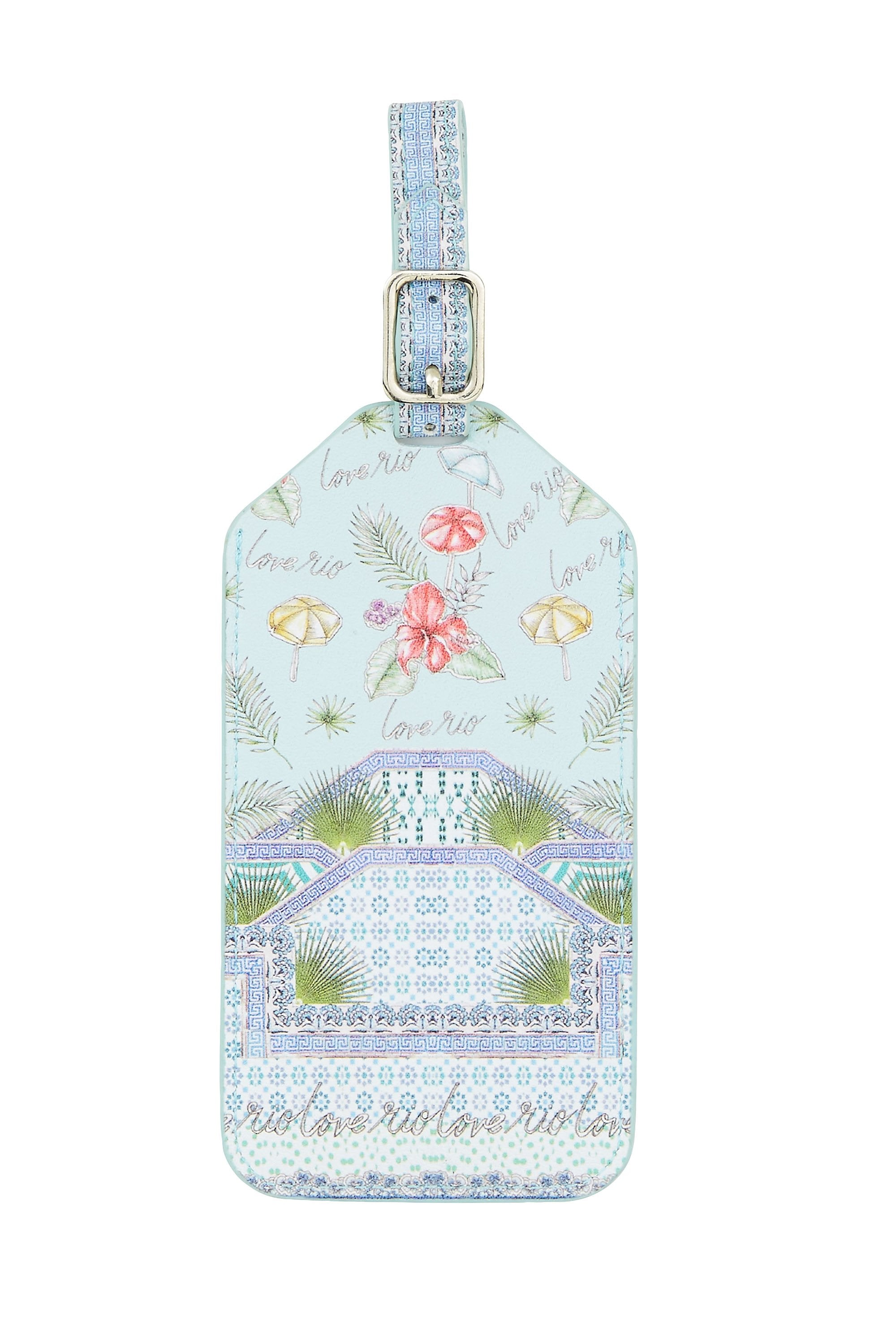 SHADES OF RIO LUGGAGE TAG