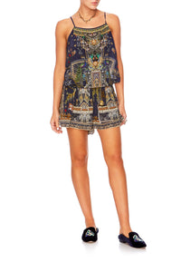 CHILDREN OF THE WORLD SHOESTRING PLAYSUIT