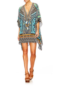 RUNAWAY READY SHORT LACE UP KAFTAN