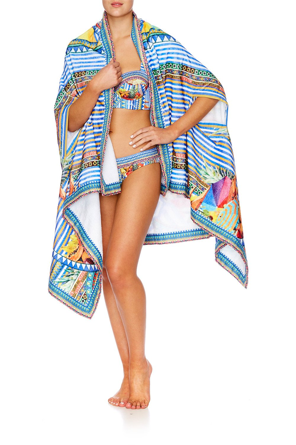 BOOK A SHADE TOWEL PONCHO