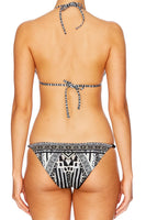 TRIBAL THEORY BEADED TRI BIKINI