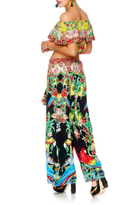 TOUCAN PLAY LOUNGE TROUSER W TIE WAIST