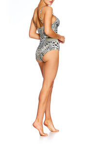 ANIMAL INSTINCT MOULDED PLUNGE ONE PIECE