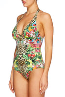 COOL CAT WIRED HALTER ONE PIECE