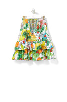 THERES NO PLACE LIKE RIO KIDS LONG TIERED SKIRT