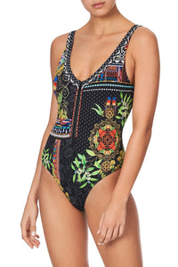ZIP FRONT ONE PIECE BLACKHEATH BETTY