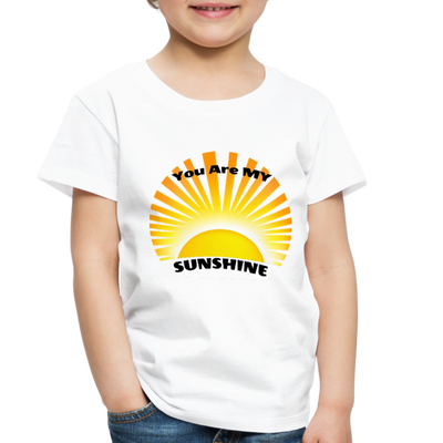 Premium You Are My Sunshine Shirt / Women's Shirt / Women's Clothes / Vintage Retro Style Tee / Ladies Graphic T-shirt / You Are My Sunshine Tee - white