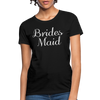 Women's Bridesmaid Shirts | Bachelorette Party Shirts | Maid Of Honor Shirts | Bridal Party Shirts - black