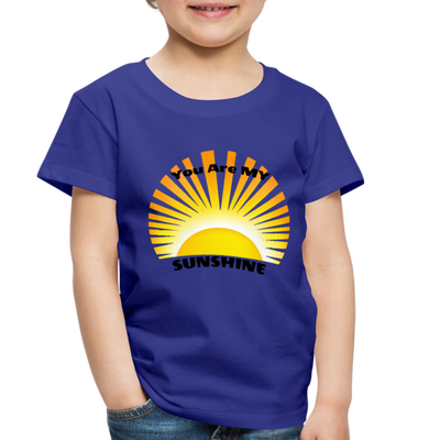 Premium You Are My Sunshine Shirt / Women's Shirt / Women's Clothes / Vintage Retro Style Tee / Ladies Graphic T-shirt / You Are My Sunshine Tee - royal blue