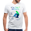 All Day I Dream Of Bachata Men's V-Neck - white