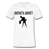 Bachata Addict Men's V-Neck T-Shirt - white