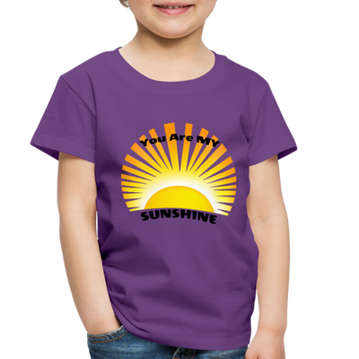 Premium You Are My Sunshine Shirt / Women's Shirt / Women's Clothes / Vintage Retro Style Tee / Ladies Graphic T-shirt / You Are My Sunshine Tee - purple