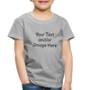 Premium Custom Toddler Shirt | Personalized Kids Shirt | Custom Baby Shirt | Custom Kids Shirt| Custom Toddler Shirt | - heather gray