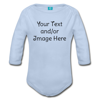 Custom Onesie® | Personalized Onesie® | Custom Baby Onesie® | Custom Baby Shirt | Baby Shower Gift | Custom Toddler Shirt | - sky