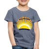 Premium You Are My Sunshine Shirt / Women's Shirt / Women's Clothes / Vintage Retro Style Tee / Ladies Graphic T-shirt / You Are My Sunshine Tee - heather blue
