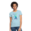 All Day I Dream Of Salsa Women's T-Shirt - powder blue
