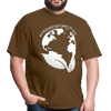 Fridays for Future - Climate Strike - Adult Unisex Tee T-Shirt - brown
