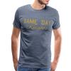 Premium Game Day Knights shirt | UCF shirt | University of Central Florida shirt | Knights shirt | College football shirt - heather blue