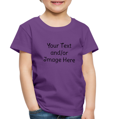 Premium Custom Toddler Shirt | Personalized Kids Shirt | Custom Baby Shirt | Custom Kids Shirt| Custom Toddler Shirt | - purple