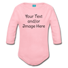 Custom Onesie® | Personalized Onesie® | Custom Baby Onesie® | Custom Baby Shirt | Baby Shower Gift | Custom Toddler Shirt | - light pink