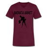 Bachata Addict Men's V-Neck T-Shirt - maroon