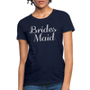 Women's Bridesmaid Shirts | Bachelorette Party Shirts | Maid Of Honor Shirts | Bridal Party Shirts - navy