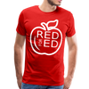 Red for Ed - Adult or Youth Unisex Premium T-Shirt - red