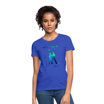 All Day I Dream Of Salsa Women's T-Shirt - royal blue