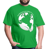 Fridays for Future - Climate Strike - Adult Unisex Tee T-Shirt - bright green