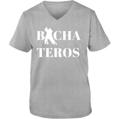 Bachateros Letter A Adult Unisex Vneck Tee