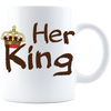 Her King/His Queen Mug