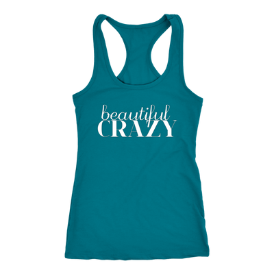 Beautiful Crazy Shirt, Country Music Shirt Country Concert Tank Top