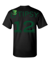 O'TIPSY 12 Green Text Adult Unisex T-Shirt