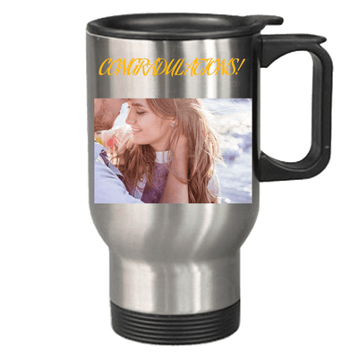 Personalized Travel Mug with text and/or images