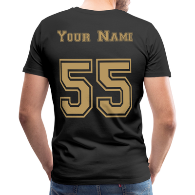 Custom UCF Game Day Unisex Premium T-Shirt - black