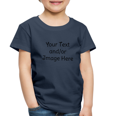 Premium Custom Toddler Shirt | Personalized Kids Shirt | Custom Baby Shirt | Custom Kids Shirt| Custom Toddler Shirt | - navy