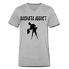 Bachata Addict Men's V-Neck T-Shirt - heather gray