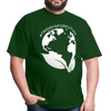 Fridays for Future - Climate Strike - Adult Unisex Tee T-Shirt - forest green