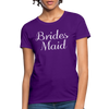 Women's Bridesmaid Shirts | Bachelorette Party Shirts | Maid Of Honor Shirts | Bridal Party Shirts - purple