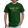 Unisex Game Day Bulls shirt | USF shirt | University of South Florida shirt | Bulls shirt | College football shirt - forest green