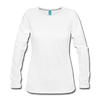 Leaves & Lattes Women's Premium Long Sleeve T-Shirt - white