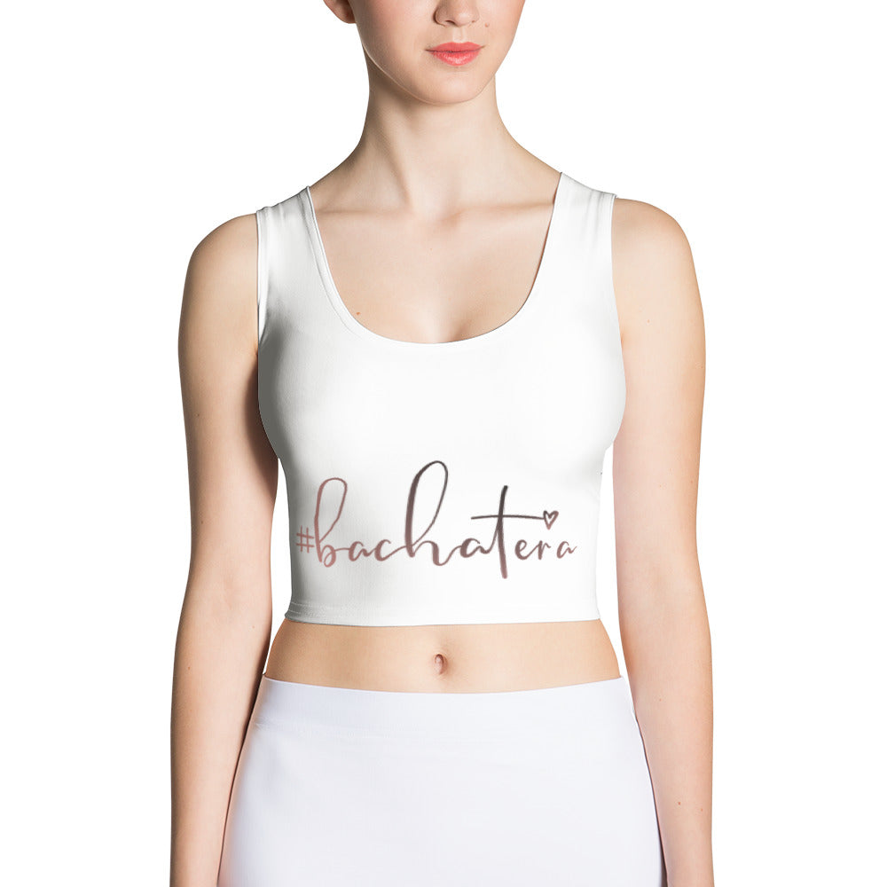 #Bachatera Fitted Sew Crop Top