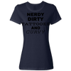Nerdy Dirty Tattooed And Curvy Ladies Classic Tees With Strong Curvy